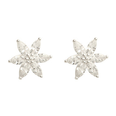 Van Peterson 925 - Sterling silver north star stud earrings