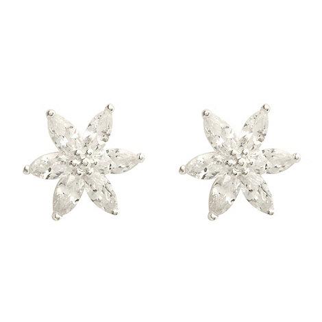 Van Peterson 925 - Sterling silver +North Star+ stud earrings