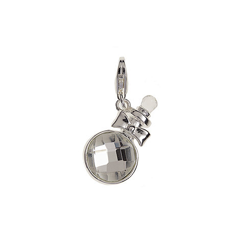 Van Peterson 925 - Crystal perfume bottle charm