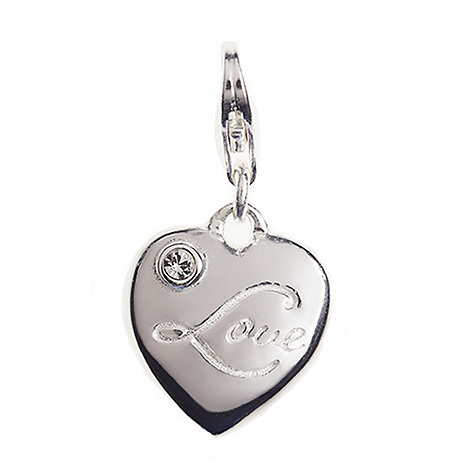 Van Peterson 925 - Sterling silver love heart charm