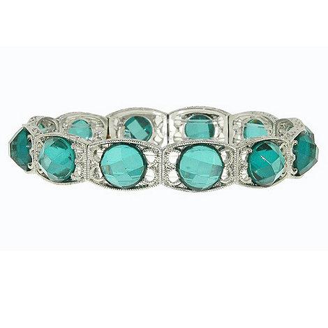1928 - Zircon flower bracelet