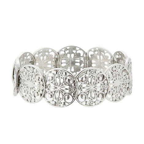1928 - Silver disc bracelet