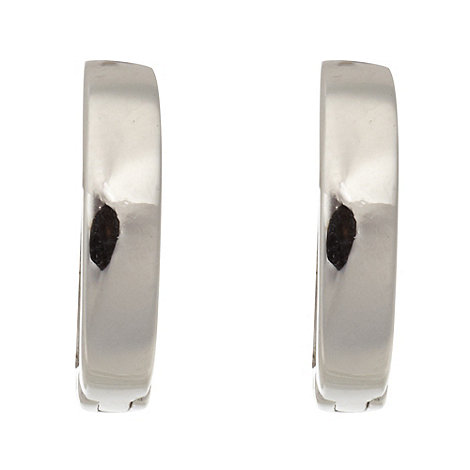 J by Jasper Conran - Designer silver square earrings