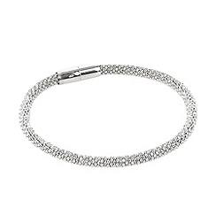 J by Jasper Conran - Designer silver mesh bracelet