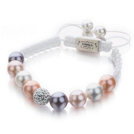 Shimla - Shell pearl bracelet