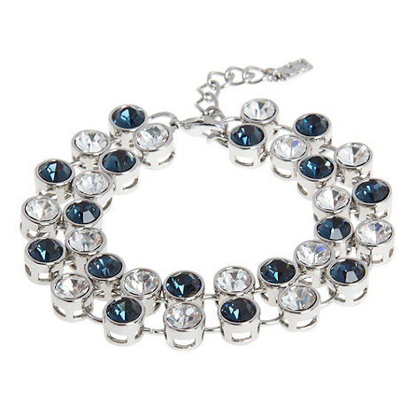 The Collection - Silver two tone stone bracelet
