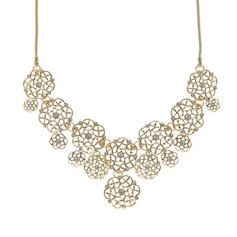 No. 1 Jenny Packham - Designer gold filigree necklace