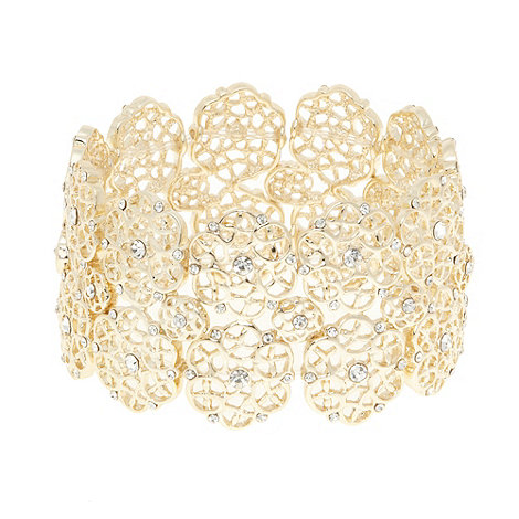 No. 1 Jenny Packham - Designer gold filigree bracelet