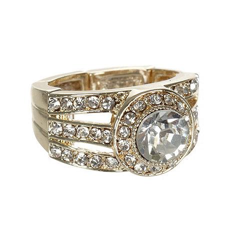 No. 1 Jenny Packham - Designer gold stone ring