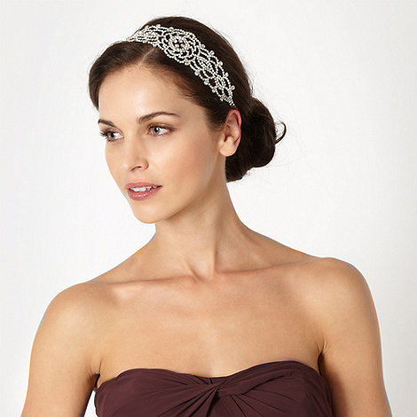 No. 1 Jenny Packham - Designer silver diamante head band