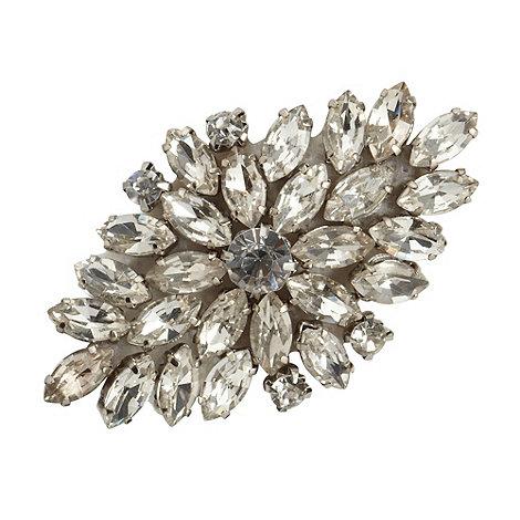 No. 1 Jenny Packham - Designer silver diamante clip