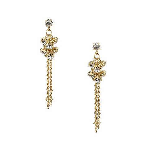 No. 1 Jenny Packham - Designer cluster chain earrings