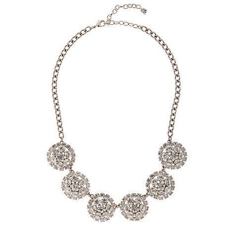 Martine Wester - Crystal cluster necklace