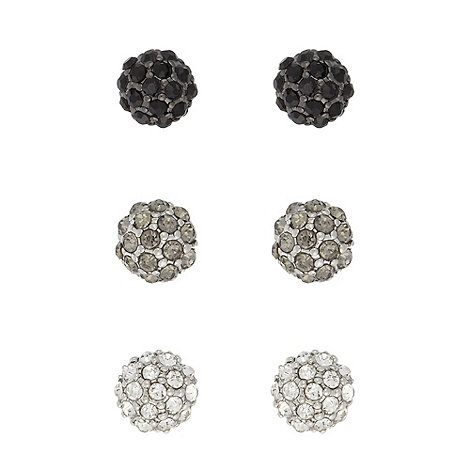 Floozie by Frost French - Silver set of three studs