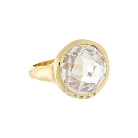 Van Peterson 925 - Designer silver cubic zirconia ring - M/L