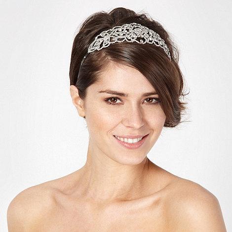 No. 1 Jenny Packham - Designer silver embellished hair band