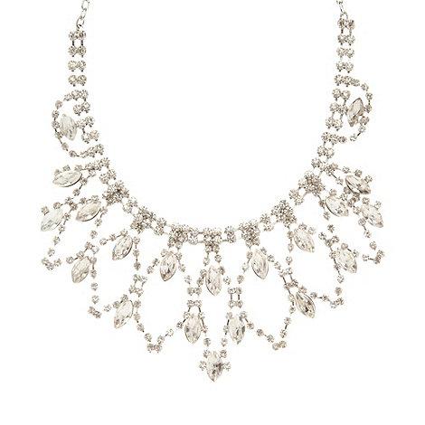 No. 1 Jenny Packham - Designer silver crystal necklace