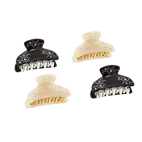 The Collection - Pack of four embellished claw clips