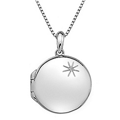 Hot Diamonds - Memoirs circle pendant