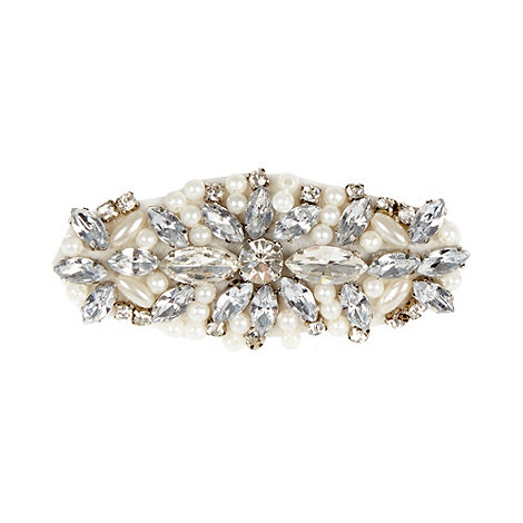 No. 1 Jenny Packham - Designer cream beaded hair clip