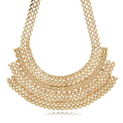 Call It Spring Gold ´Sahlberg´ multi chain necklace - . -