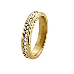 Dyrberg Kern - Gold plated stainless steel ring