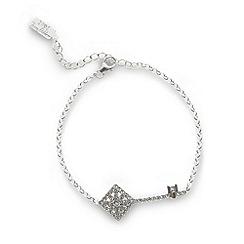 No. 1 Jenny Packham - Designer sterling silver key charm bracelet