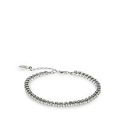 No. 1 Jenny Packham - Designer sterling silver tennis bracelet