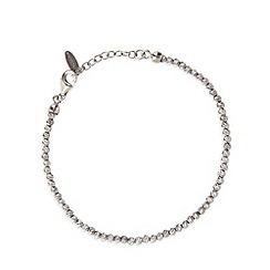 J by Jasper Conran - Designer sterling silver textured ball bracelet