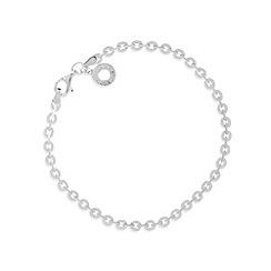 Van Peterson 925 - Designer sterling silver flat chain bracelet