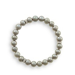 No. 1 Jenny Packham - Designer light grey 8mm pearl bracelet