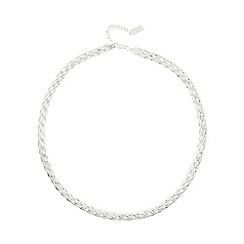 No. 1 Jenny Packham - Designer sterling silver plaited necklace