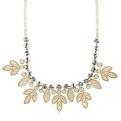 No. 1 Jenny Packham - Designer cream jewel embellished necklace
