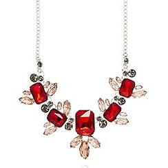 No. 1 Jenny Packham - Designer silver plated stone necklace