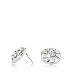 No. 1 Jenny Packham - Designer silver plated circle earrings