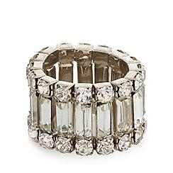 No. 1 Jenny Packham - Designer silver baguette ring