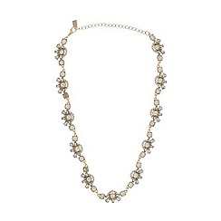 No. 1 Jenny Packham - Designer gold stone necklace