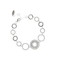 J by Jasper Conran - Designer sterling silver circle bracelet