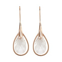 J by Jasper Conran - Designer rose gold vermeil jewel drop earrings
