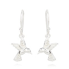 Van Peterson 925 - Designer sterling silver bird earrings