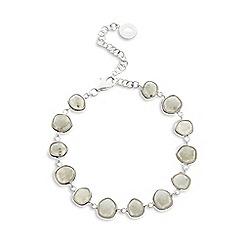 Van Peterson 925 - Designer sterling silver labradorite bracelet