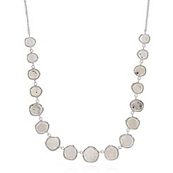 Van Peterson 925 - Designer sterling silver gem necklace