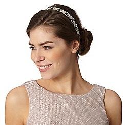 No. 1 Jenny Packham - Designer silver stone headband