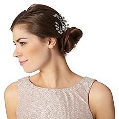 No. 1 Jenny Packham - Designer silver gem hair comb
