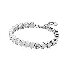 Dyrberg Kern - Silver plated stainles steel bracelet