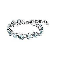 Dyrberg Kern - Blue bracelet in stainless steel
