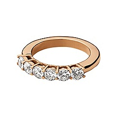 Dyrberg Kern - Rose gold plated stainless steel ring