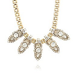 The Collection - Gold plated ornate necklace