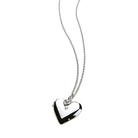 Hot Diamonds - Silver +giselle+ heart locket
