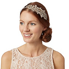 No. 1 Jenny Packham - Designer pale pink gem embellished headband